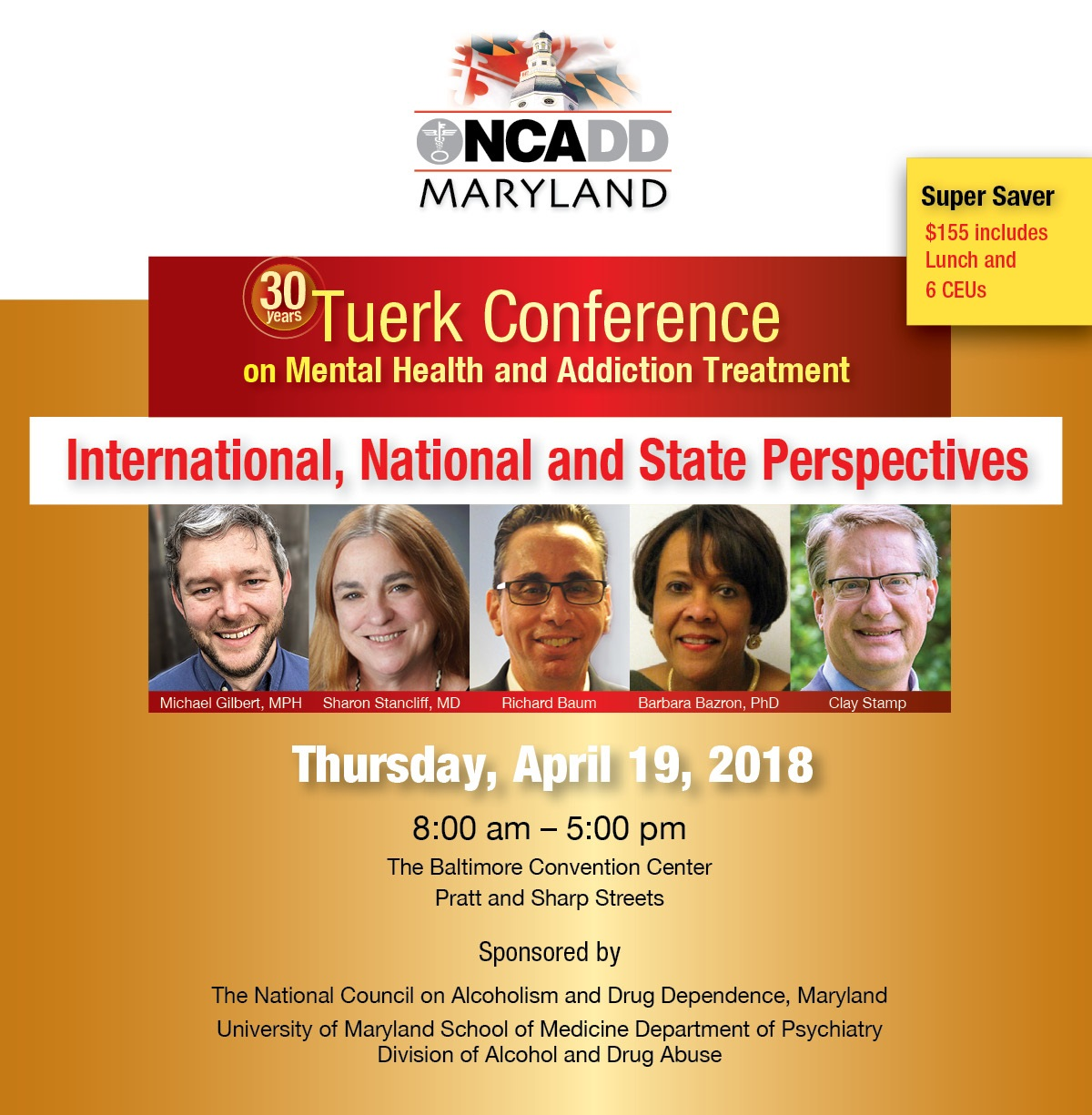 2018 Tuerk Conference On Mental Health And Addiction Treatment